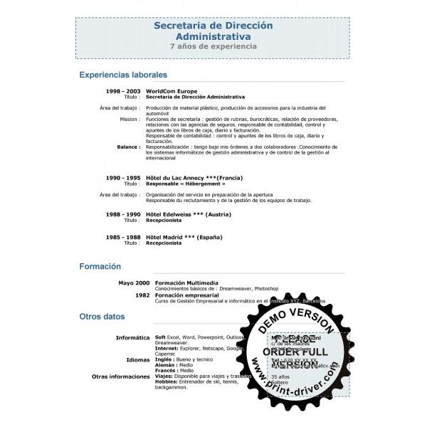 110 Plantillas Modernas Y Elegantes Para Curriculum Vitae Word
